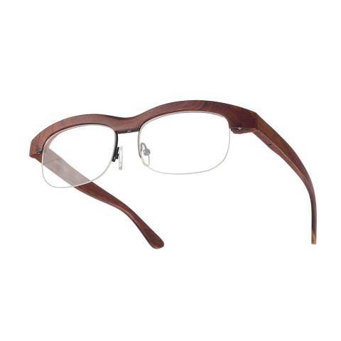 Деревянные очки Woodwedo City Retro Red Sandal