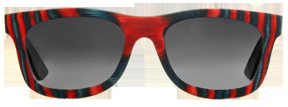 Солнцезащитные очки из скейтов woodwedo sk8 d1