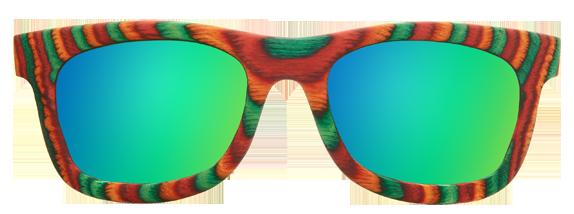 Солнцезащитные очки из скейтов woodwedo sk8 e1