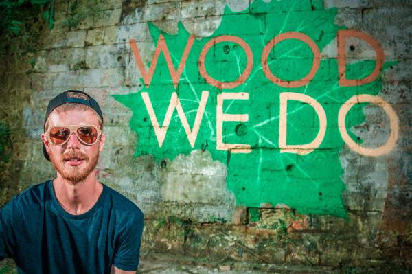 Деревянные очки Woodwedo Drop