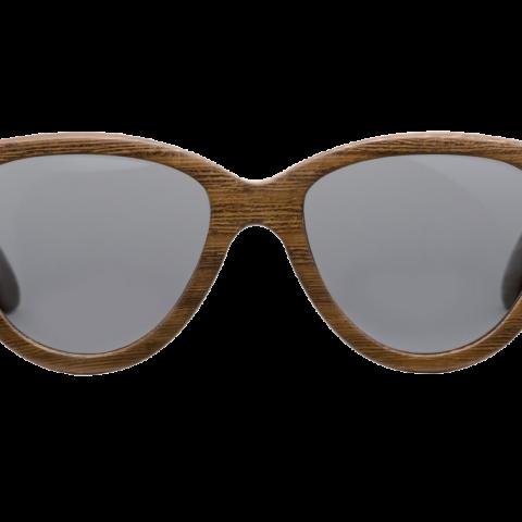 Cолнцезащитные очки в деревянной оправе Woodwedo Koshka