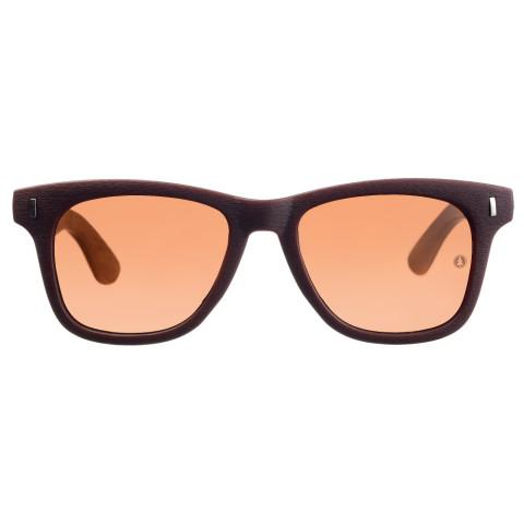 очки с деревянными дужками Woodwedo Blues Brown