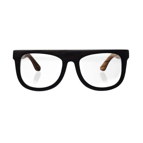 Деревянные очки Woodwedo Flatwood Optic - вид спереди