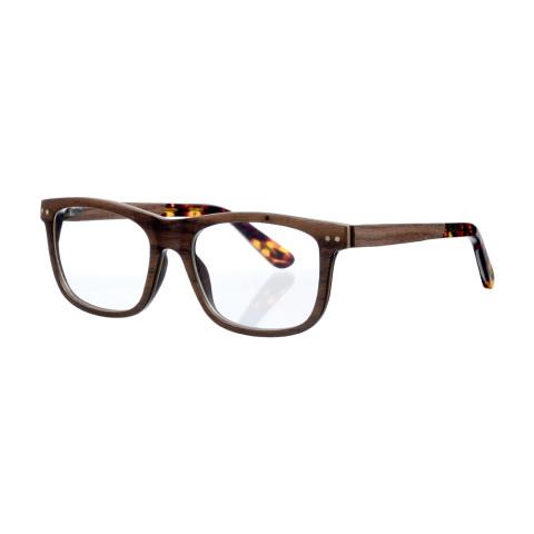 Деревянные очки Woodwedo Woodfarer Optic — вид сбоку