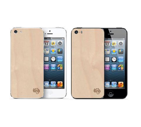 Накладка для iPhone 5/5s/5se из березы