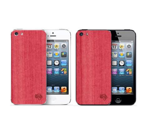Накладка для iPhone 5/5s/5se из розового кото