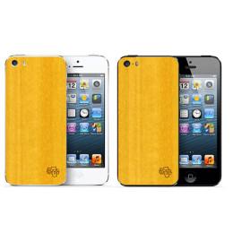 Накладка для iPhone 5/5s/5se из желтого кото