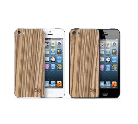 Накладка для iPhone 5/5s/5se из зебрано