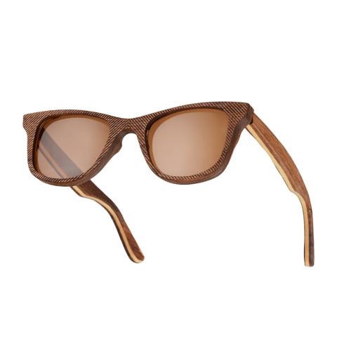 Деревянные очки Woodwedo Cliff Brown — вид сбоку