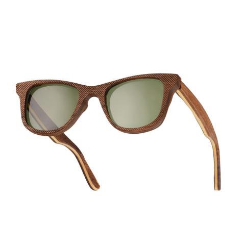 Деревянные очки Woodwedo Cliff Green — вид сбоку