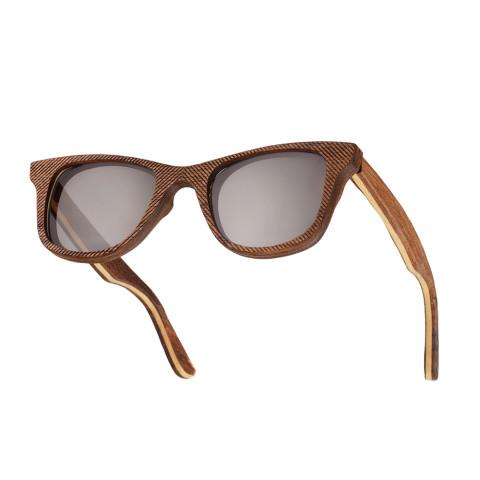 Деревянные очки Woodwedo Cliff Grey — вид сбоку