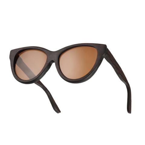 Деревянные очки Woodwedo Koshka Brown — вид сбоку