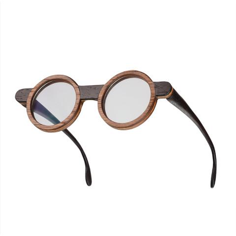 Круглые деревянные очки Woodwedo X Open Design