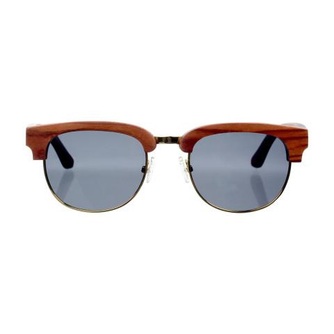 Деревянные очки Woodwedo Clubwood Brown- вид спереди