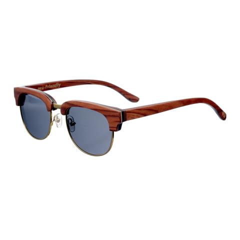 Деревянные очки Woodwedo Clubwood Brown — вид сбоку