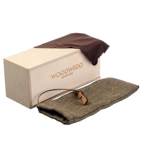 Комплект поставки очков Woodwedo