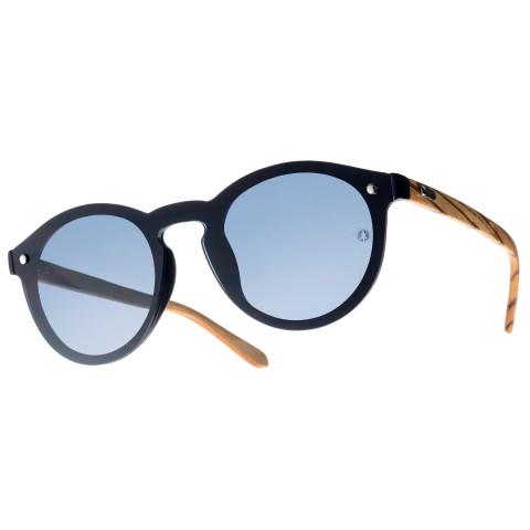 Деревянные очки Woodwedo Electronica серая линза